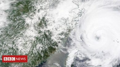 Photo of Typhoon In-Fa sweeps towards China after flooding chaos