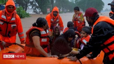 Photo of India monsoon: Rescuers search for survivors after heavy rains