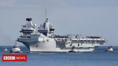 Photo of China warns UK as carrier strike group approaches