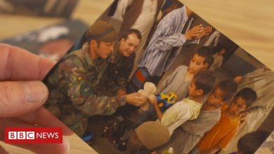 Photo of Afghanistan: Orphan's reunion with British soldier after 19 years