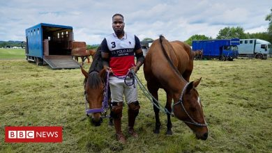 Photo of 'You can be African and black and play polo'