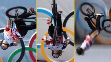 Photo of How a trick no woman had done before won a gold