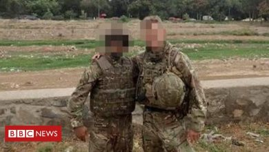 Photo of Afghan interpreter: 'A better life for my wife and children in the UK'