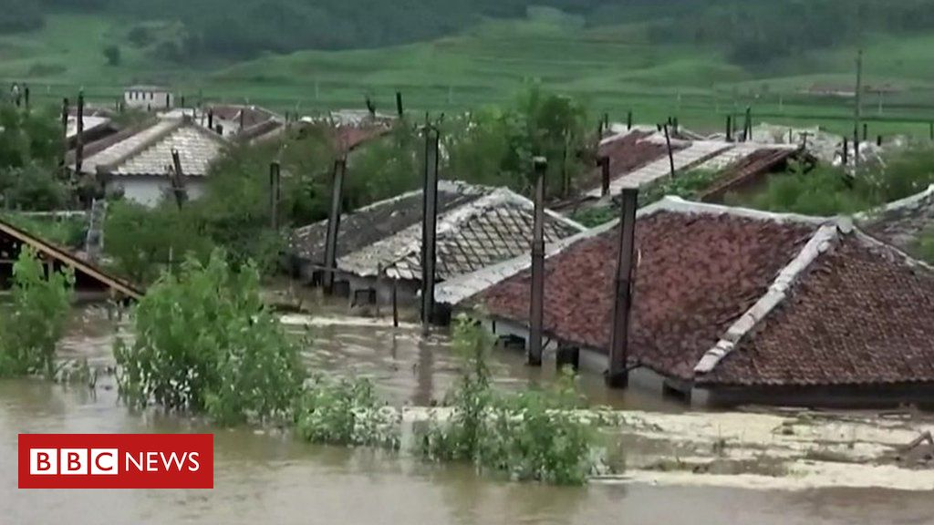 north-korea-floods:-homes-destroyed-and-thousands-evacuated