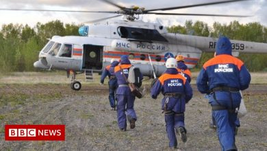 Photo of Tourist helicopter crashes into Russian lake