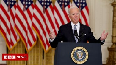 Photo of Biden defends 'messy' US pullout from Afghanistan