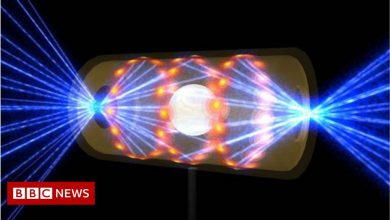 Photo of US lab stands on threshold of key nuclear fusion goal