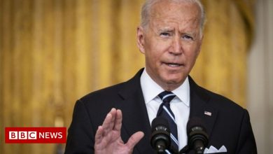 Photo of Afghanistan crisis: Biden says no American will be left behind