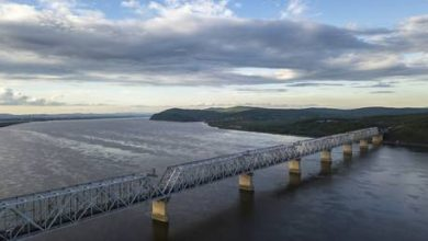 Photo of Russia completes railway section of cross-border bridge to China