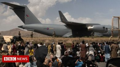 Photo of Hours without food or water in Kabul airport 'hell'