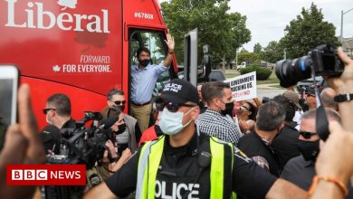 Photo of Canada election: Justin Trudeau rally cancelled after angry protests
