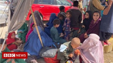 Photo of Afghanistan: Fleeing the Taliban into Pakistan and leaving dreams behind