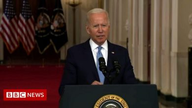 Photo of Biden defends pulling US troops out before all Americans evacuated