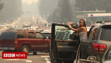 Photo of Caldor Fire: Thousands flee as Lake Tahoe under threat