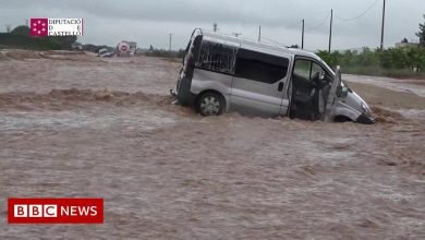 Photo of Spain hit with severe flooding after storm