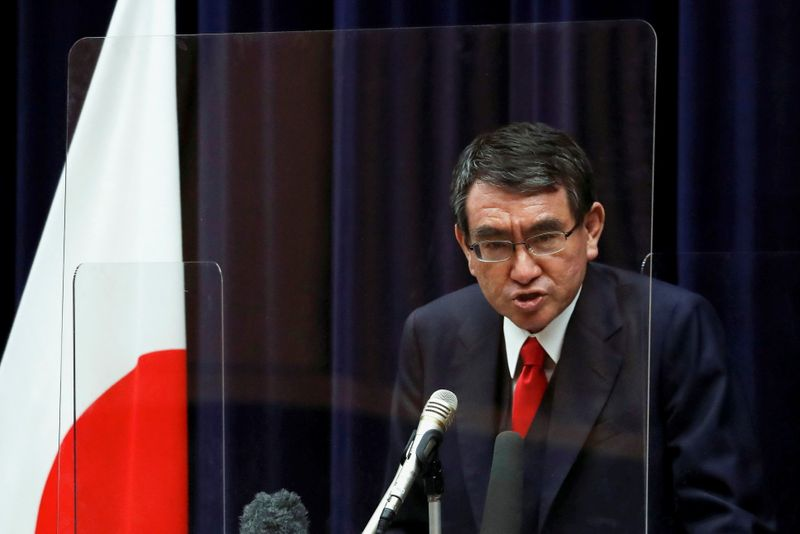japan's-covid-minister-kono-popular-with-voters-for-pm,-may-get-heavyweight-backing-–-media