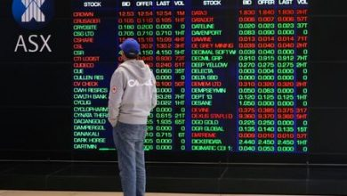 Photo of Australia stocks lower at close of trade; S&P/ASX 200 down 1.90%