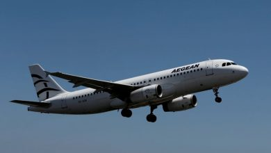 Photo of Aegean Airlines shrinks loss in second quarter, sales jump