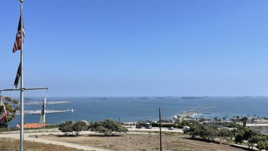 Photo of Why a record number of container ships are chilling off the California coast