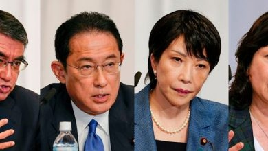 Photo of Japan PM candidates differ on same-sex, women rights issues