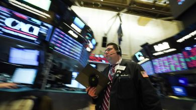 Photo of Stock market news live updates: Wall St. sinks amid China's Evergrande contagion fears, US debt politics