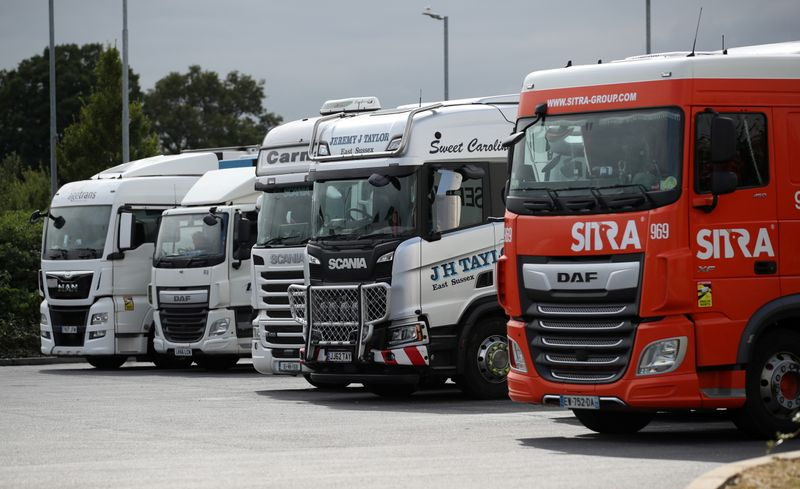 britain-expected-to-ease-visa-rules-as-truck-driver-shortage-bites