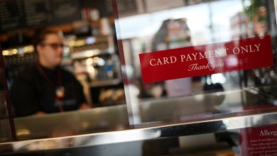 Photo of UK card spending recovers to 100% of pre-pandemic level