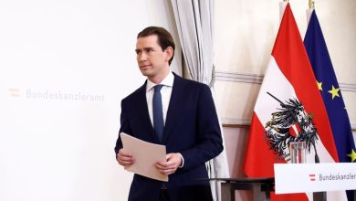 Photo of Austria's ruling coalition soldiers on after fight to near-death